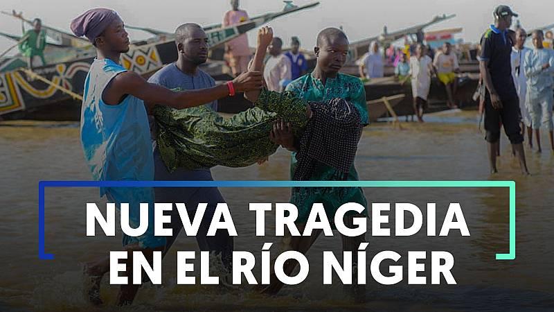 Más de 150 personas mueren en Nigeria al hundirse una barca con el doble de los pasajeros permitidos