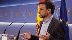 """Jaume Asens (UP), sobre la posición del Supremo y los indultos: """"Quieren suplantar al poder ejecutivo"""""""