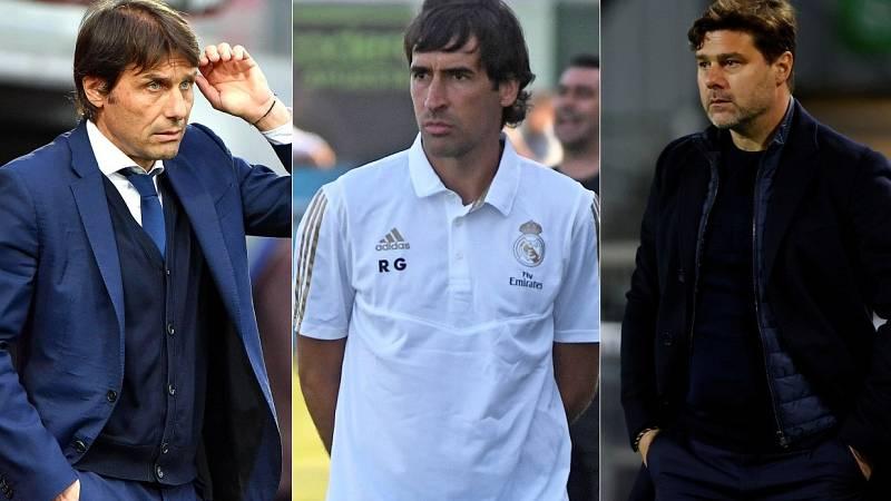 Conte, Raúl y Pochettino, candidatos para dirigir al Madrid