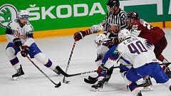 Hockey sobre hielo - Campeonato del Mundo: Letonia - Noruega