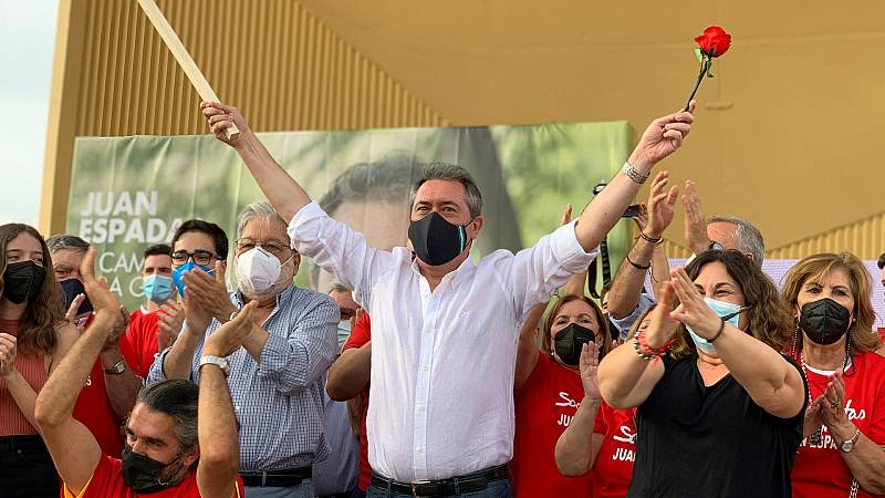 El PSOE andaluz comienza la campaña para las primarias del 13 de junio