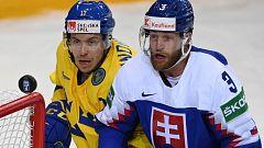 Hockey sobre hielo - Campeonato del Mundo: Suecia - Eslovaquia