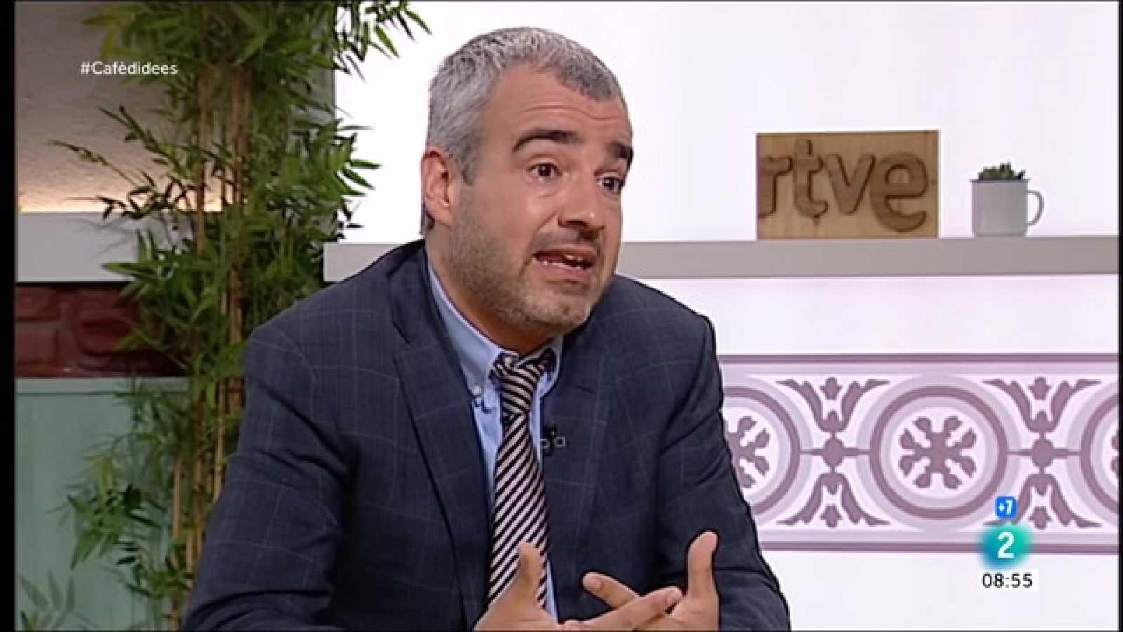 """Cafè d'idees - Maurici Lucena: """"Si no s'amplia l'aeroport, augmentaran els preus dels bitllets"""""""