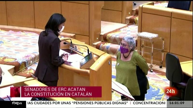 Parlamento - Conoce el Parlamento - Nuevos senadores autonómicos - 29/05/2021