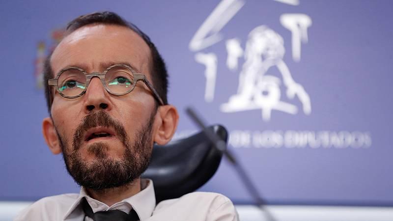 """Echenique: """"Sería buena noticia que los líderes catalanes pudieran hacer política en la calle y las instituciones"""""""
