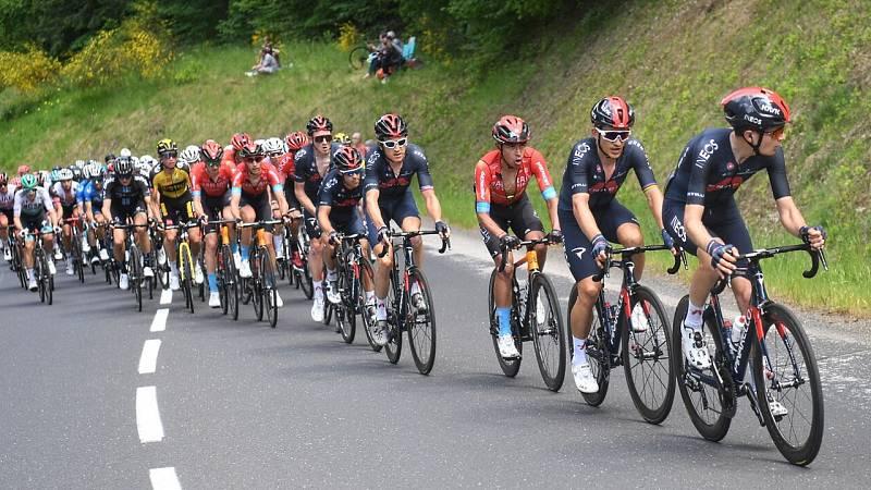 Ciclismo - Criterium du Dauphiné. 2ª etapa: Brioude - Saugues - ver ahora