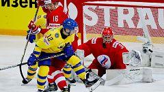 Hockey sobre hielo - Campeonato del Mundo: Rusia - Suecia