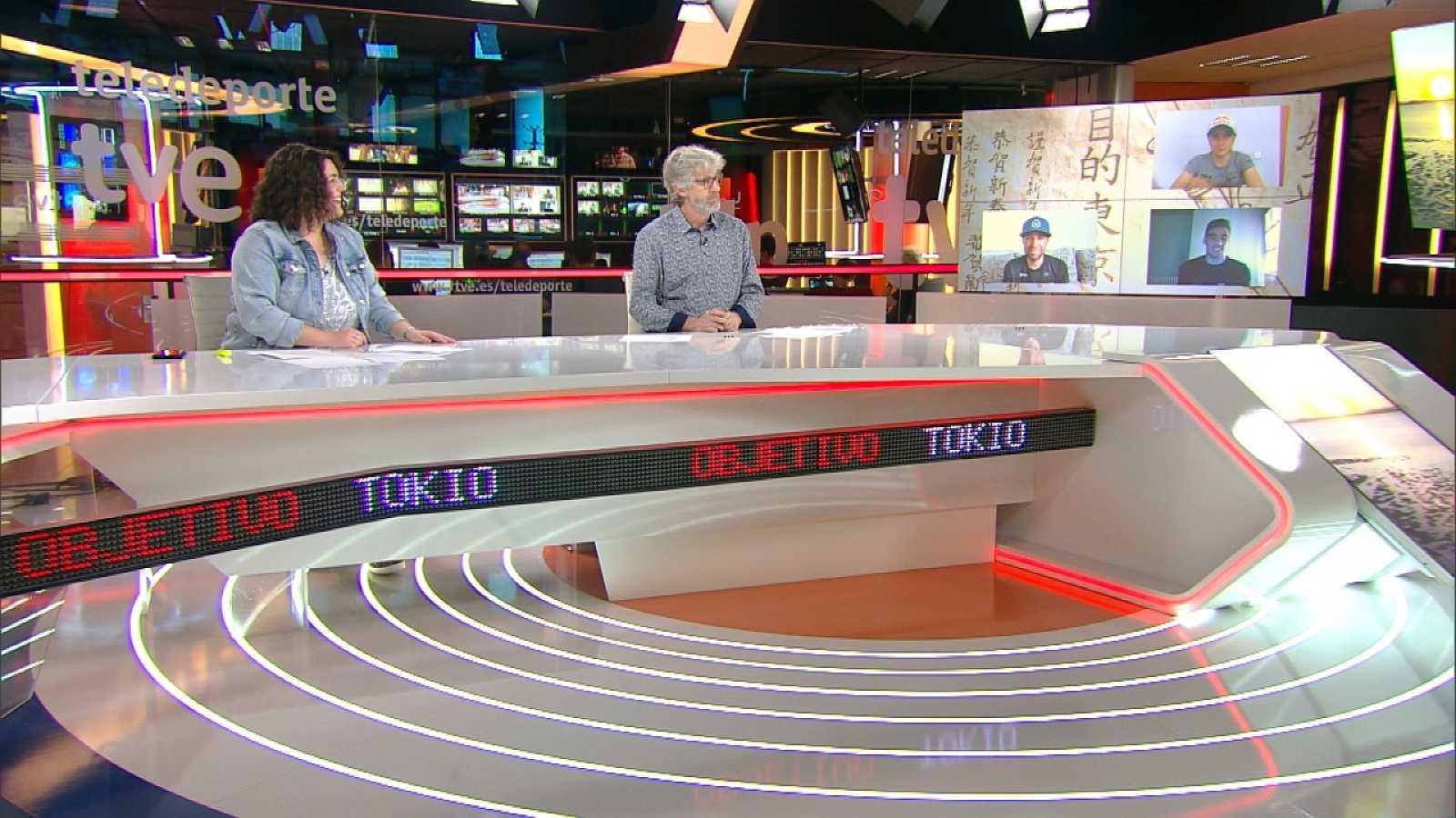Objetivo Tokio - Programa 162: Fernando Rivas, entrenador de Carolina Marín, y Rocío del Alba García, David Valero y Jofre Cullell - ver ahora