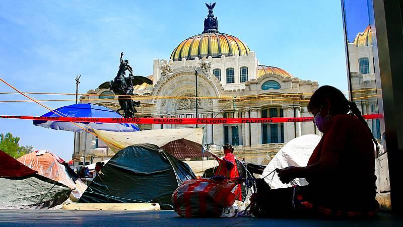 Ciudadanos mexicanos denuncian la inacción ante los desplazamientos forzados por el crimen