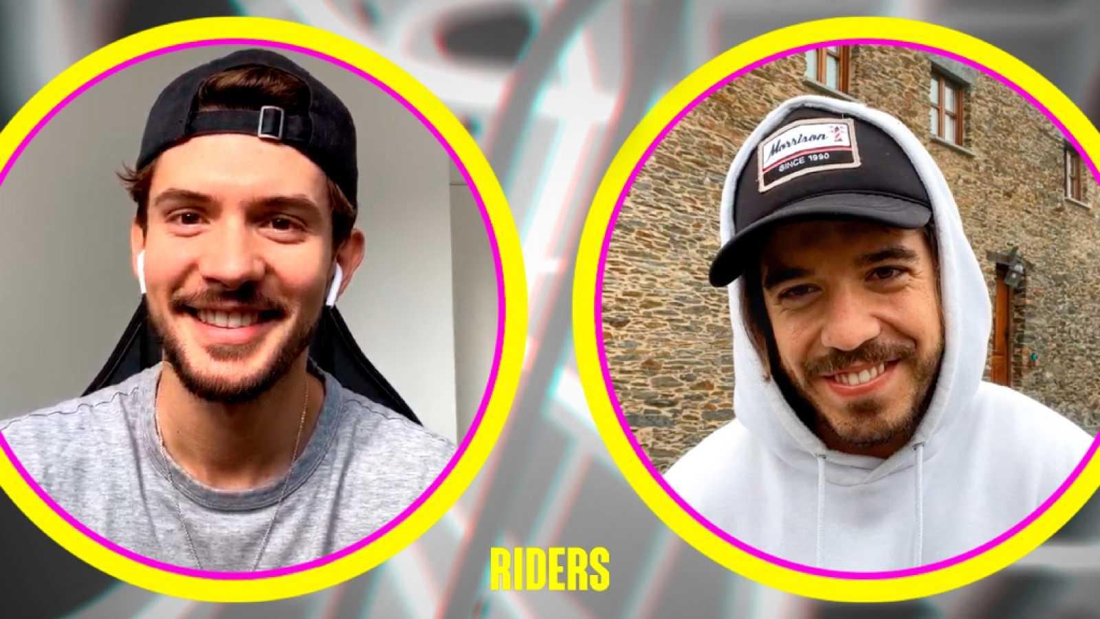 Carlos Right y Roi reaccionan a sus divertidos cameos en 'Riders'