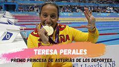 Teresa Perales, galardonada con el premio Princesa de Asturias de los Deportes