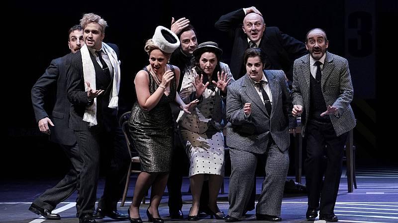 El Teatro Real estrena la ópera bufa 'Viva la mamma', de Donizetti