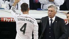 """Carlo Ancelotti: """"No hemos tenido tiempo de hablar de Sergio Ramos"""""""