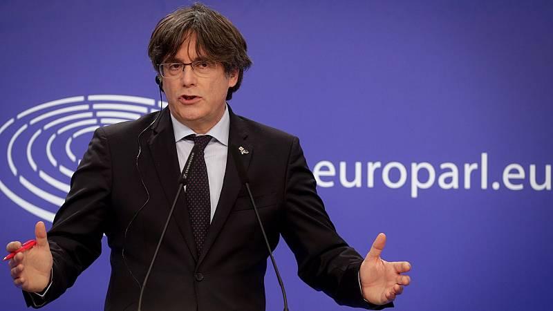 Puigdemont recupera provisionalmente la inmunidad tras aceptar la justicia europea su recurso
