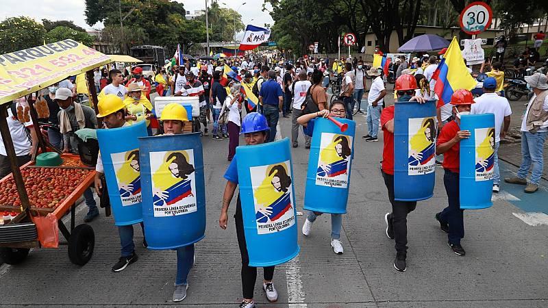Los diálogos entre el Gobierno de Colombia y el Comité de Paro Nacional continúan sin avances