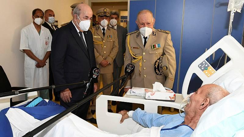 Brahim Gali reaparece en un hospital de Argel