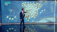 Fuertes tormentas en el entorno del Ebro