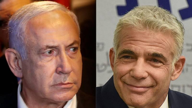 La oposición de Israel anuncia un acuerdo de Gobierno para desbancar a Netanyahu tras 12 años en el poder - Ver ahora