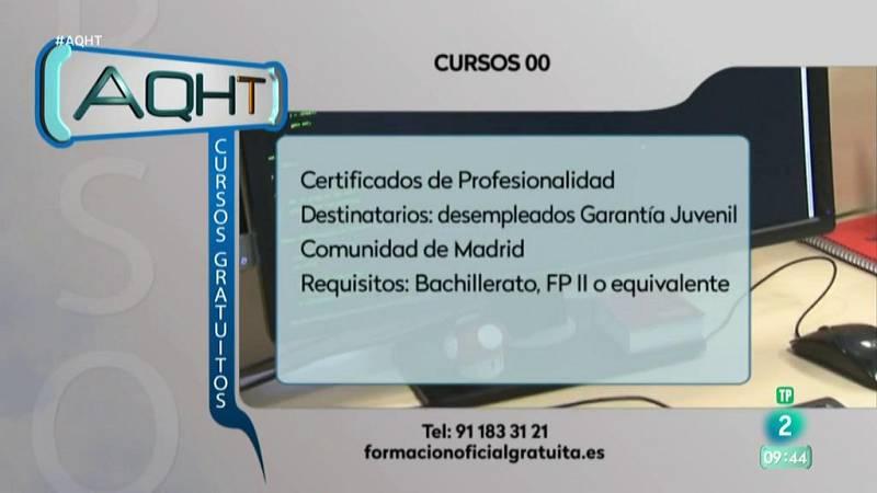 Aquí hay trabajo - Formación gratis para jóvenes en Madrid
