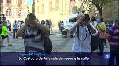 Ambiente en las calles de Toledo por el Corpus