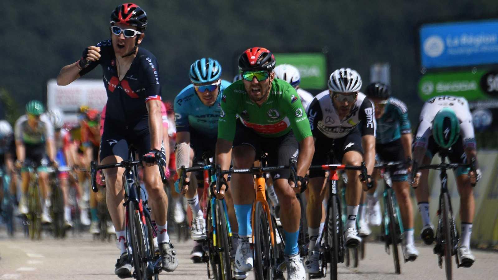 Así fue la victoria de Geraint Thomas en la etapa 5 de la Dauphiné