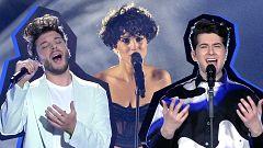 Eurovisión 2021 - Blas Cantó, Gjon's Tears y Barbara Pravi se reencuentran en España