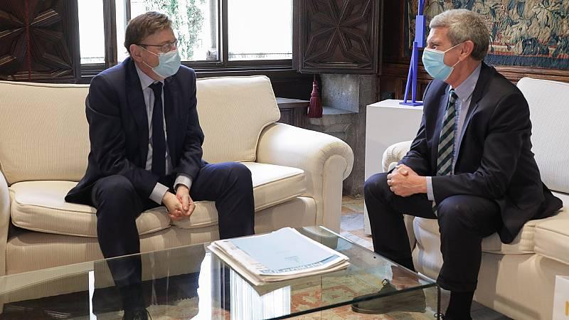 José Manuel Pérez Tornero se reúne con Ximo Puig en Valencia
