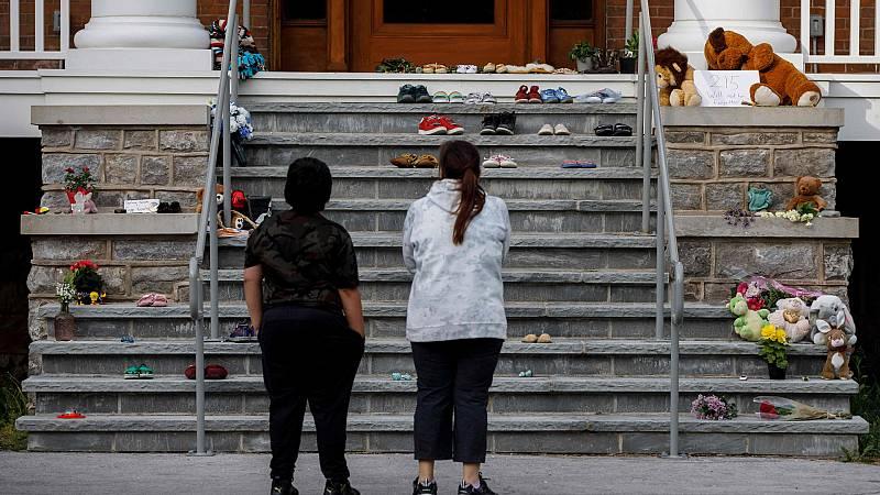 Canadá, conmocionada por el hallazgo de los restos de 215 niños indígenas