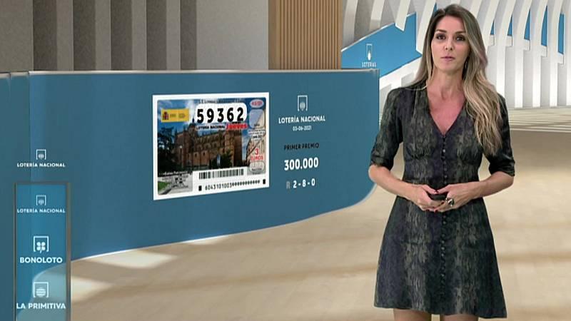 Sorteo de la Lotería Nacional, Bonoloto, Primitiva y Jóker del 03/06/2021 - ver ahora