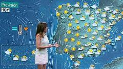 Descenso de las temperaturas diurnas en el interior y tormentas fuertes en el Pirineo