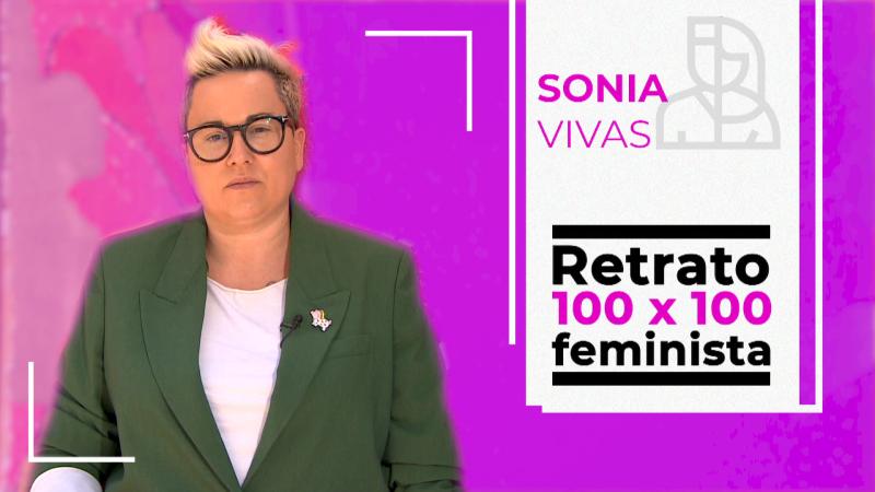 Objetivo Igualdad -Retrato 100 x 100 feminista: Sonia Vivas, ex policía y escritora