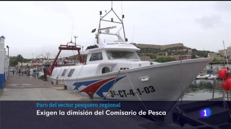 Crónica sobre el paro en el sector pesquero de la Región