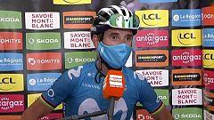 """Alejandro Valverde: """"Estoy súper contento. El equipo ha hecho un trabajazo"""""""