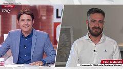 """Felipe Sicilia (PSOE): """"Cospedal no es el pasado del PP, es un presente"""""""