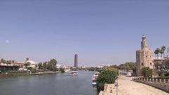 Chubascos y tormentas localmente fuertes en un amplio entorno del alto y medio Ebro