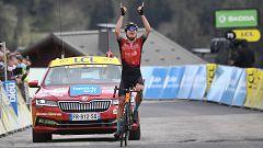 Padun consigue la victoria en La Plagne y Porte se pone líder del Dauphiné