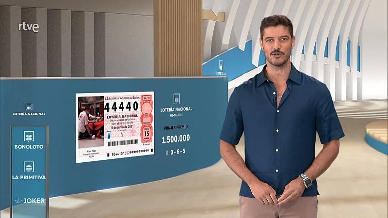 Sorteo de la Lotería Nacional del 05/06/2021 - ver ahora