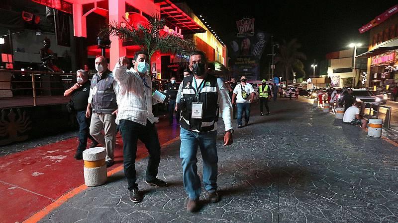 Los contagios de coronavirus repuntan en la turística Cancún, cuando se encuentran en retroceso en el resto de México