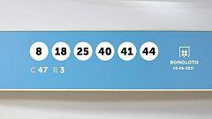 Sorteo de la Lotería Bonoloto del 05/06/2021