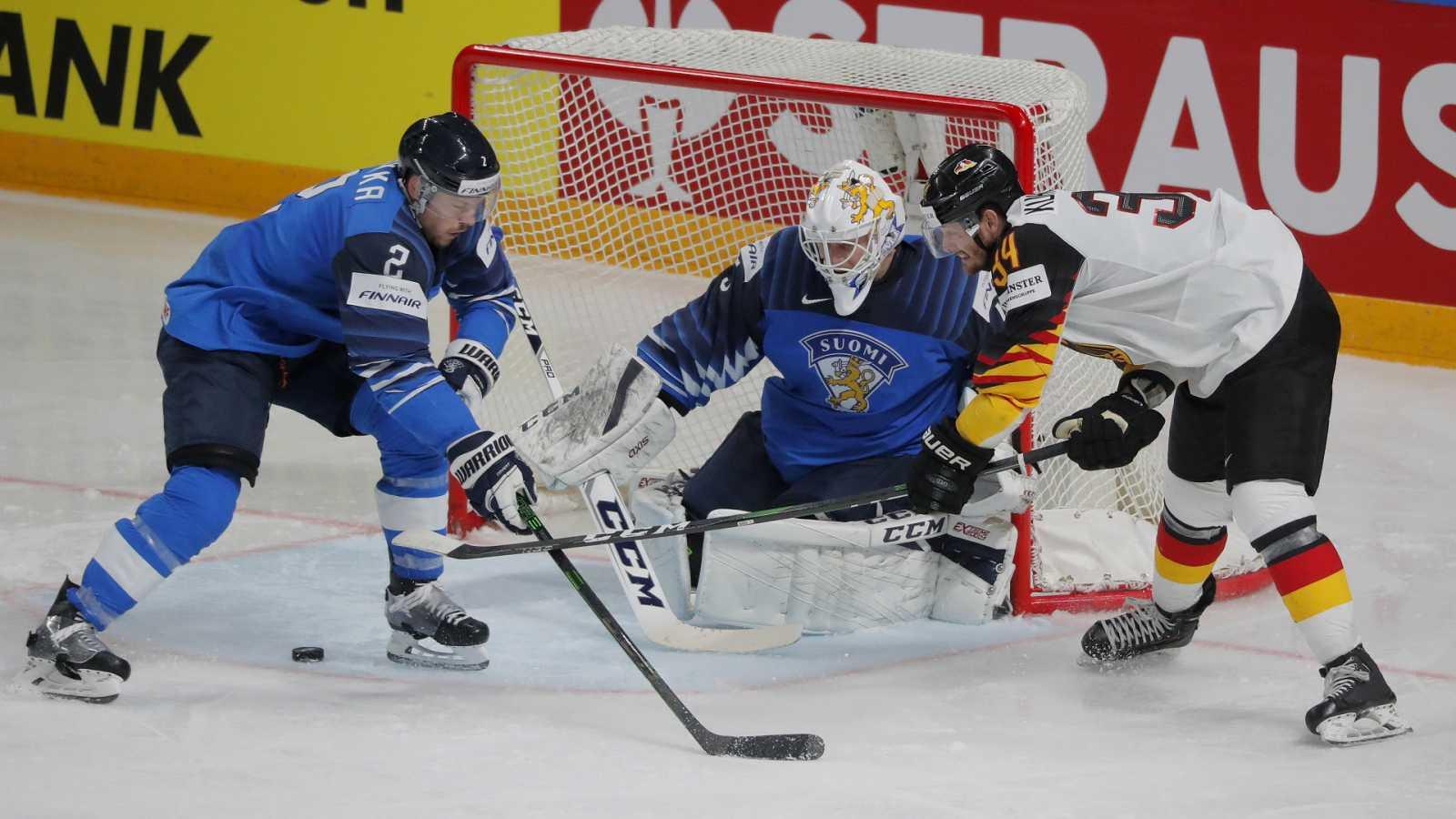 Hockey sobre hielo - Campeonato del mundo masculino. 2ª Semifinal: Finlandia - Alemania - ver ahora