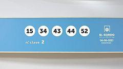 Sorteo de la Lotería Gordo de la Primitiva del 06/06/2021