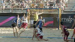 Balonmano playa - Copa de Europa de clubes. Final masculina