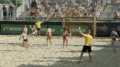Balonmano playa - Copa de Europa de clubes. Final femenina