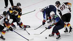 Hockey sobre hielo - Campeonato del mundo masculino. 3º y 4º puesto: Estados Unidos - Alemania