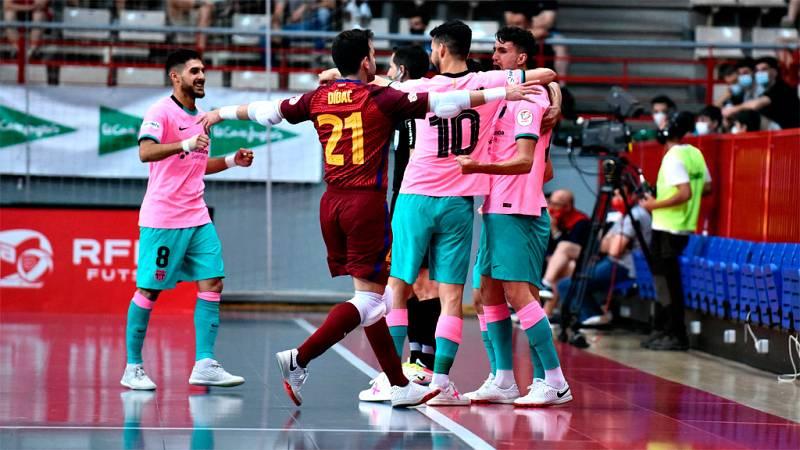 Futsal Inter Movistar - FC Barcelona: Tanda de penaltis