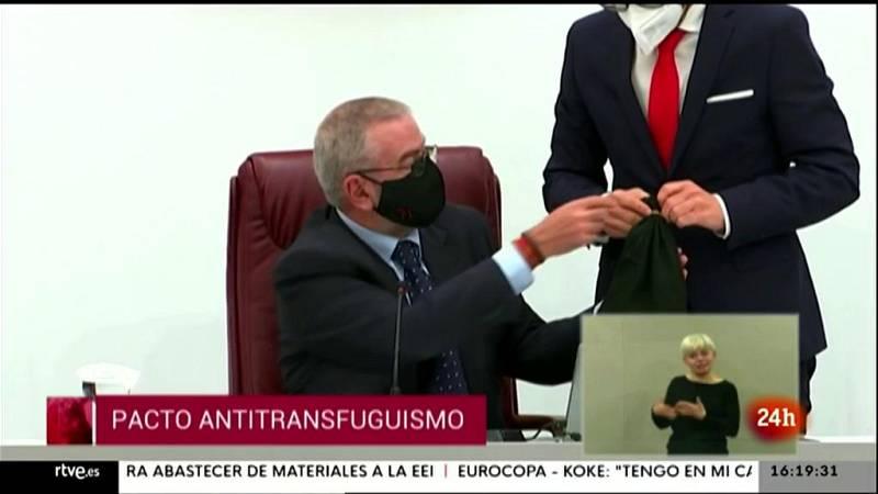 Parlamento - Otros parlamentos - Transfuguismo en Murcia - 05/06/2021