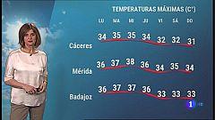El tiempo en Extremadura - 07/06/2021