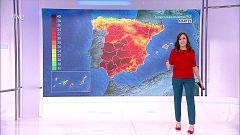 Posibilidad de tormentas fuertes en zonas entre Teruel y Castellón. Intervalos de levante fuerte en el Estrecho
