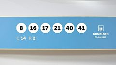 Sorteo de la Lotería Bonoloto del 07/06/2021