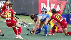 Hockey hierba - Campeonato de Europa femenino: España - Países Bajos